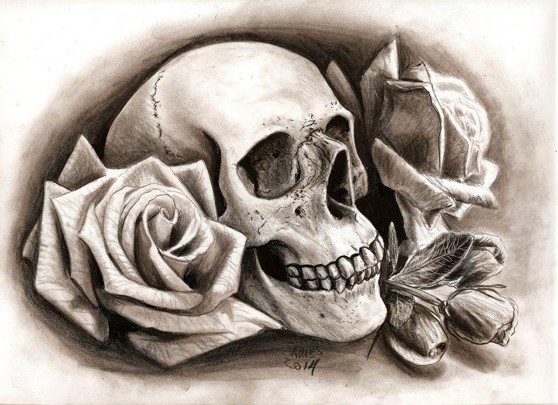 Эскизы тату Череп | Skull tattoo designs