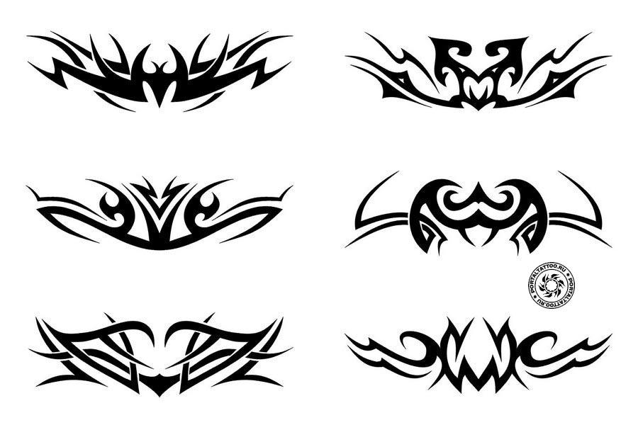 Эскизы в стиле Трайбл тату | 600 Designs Tribal Tattoo