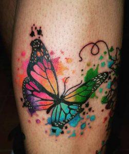 Тату бабочка
