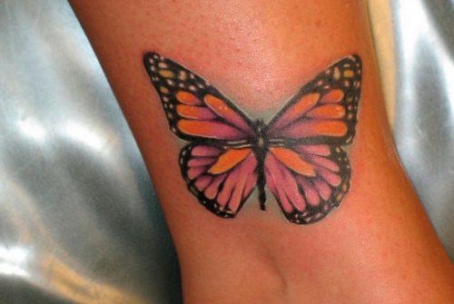 Фото тату Бабочка   Фотографии татуировки Бабочка   Butterfly tattoos