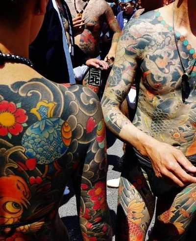 Ирэдзуми | Значение японских тату | Японский карп, Кинтаро, дракон и др.