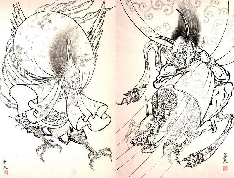 Sketchbook -100 Demons Japanese Tattoo Horiyoshi III