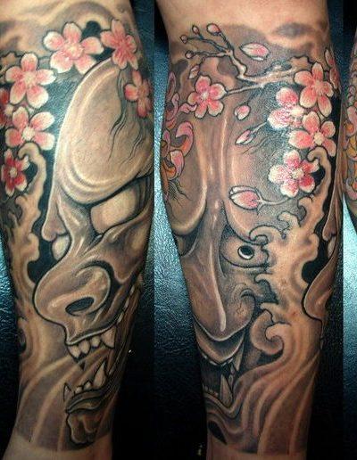 Японские демоны: Имена и мифология | Тату японские демоны
