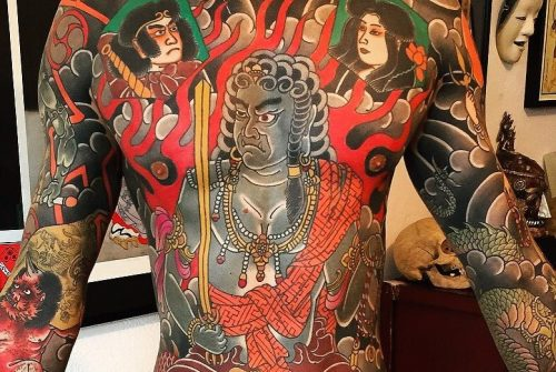 Японские татуировки с божествами. Японские божества:  имена, мифы.