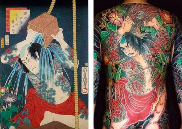 Японские тату