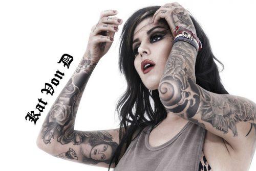 Kat Von D. Кэт фон Ди — звезда в мире татуировки.