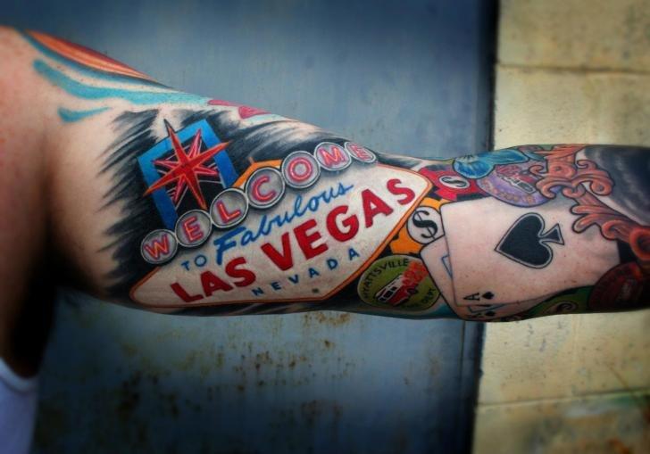 Азартные татуировки. Значения азартных татуировок.