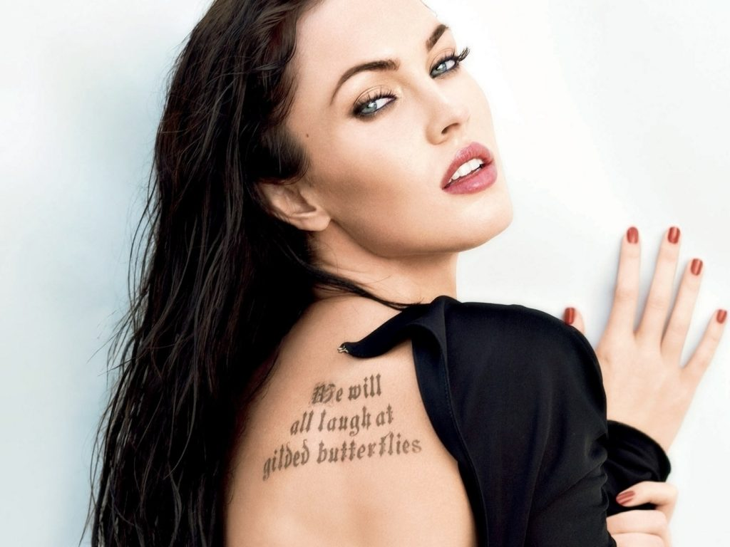 Татуировка Меган Фокс