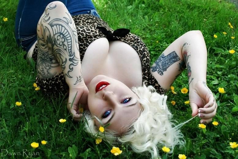 Женские татуировки | Фото татуированных девушек