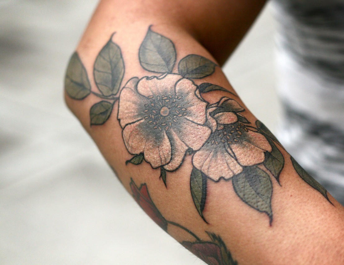 Тату на руке. Татуировки на руке для девушек и мужские.