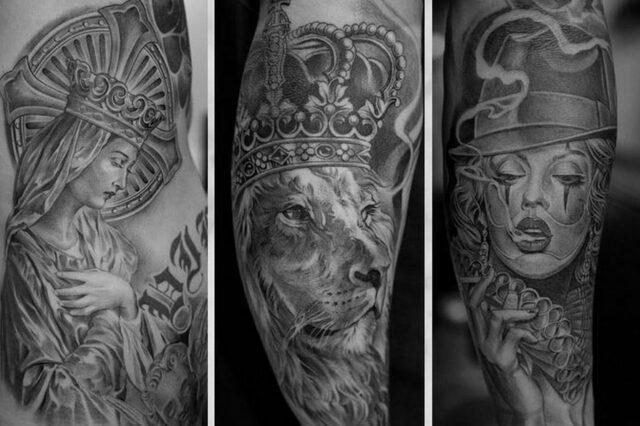 Чикано фото. Фотографии татуировок в стиле Чикано.