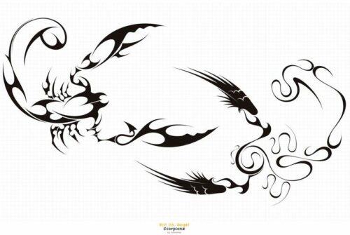 Скорпион тату эскиз. Эскизы татуировки Скорпион.