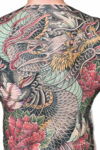 Фото тату дракона. Фотографии татуировки дракона в разных стилях.