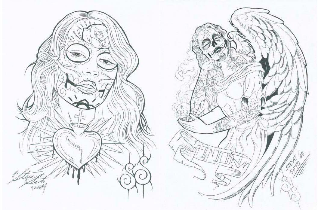 Sketchbook Steve Soto — El Libro De Los Muertos