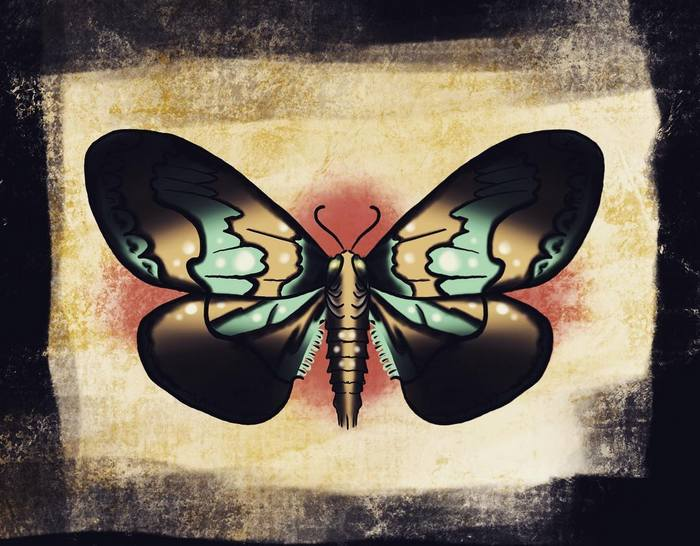 Эскизы тату Бабочка