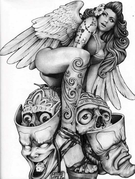 "Sketchbook ""Mouse"" Lopez - A Vision From The Inside 