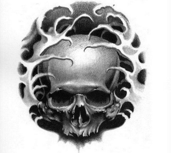 Эскизы татуировки Череп | Sketchbook by Victor Modaferri – Memento Mori