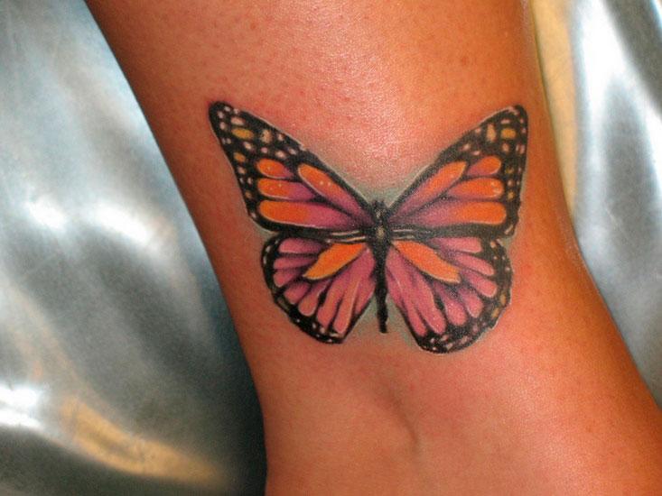 Фото тату Бабочка | Фотографии татуировки Бабочка | Butterfly tattoos