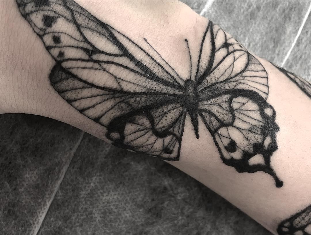 Тату бабочка | Значение татуировки бабочка | Фото и эскизы тату