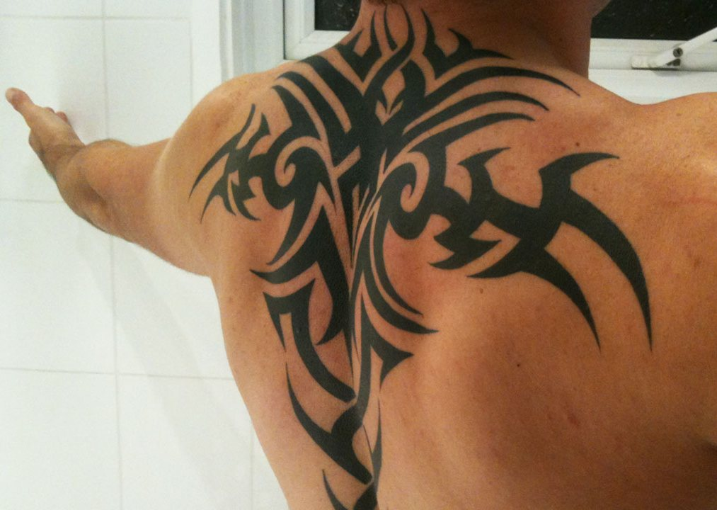 Трайбл тату | Значение татуировок в стиле Трайбл | Фото | Эскизы |