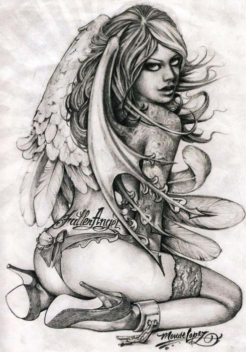 """Sketchbook """"Mouse"""" Lopez - A Vision From The Inside. Chicano tattoo."""