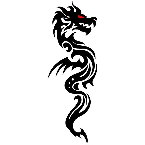 Эскизы татуировки Дракон