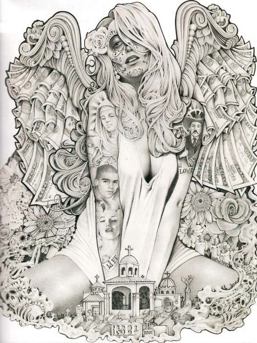 """Sketchbook """"Mouse"""" Lopez - A Vision From The Inside 