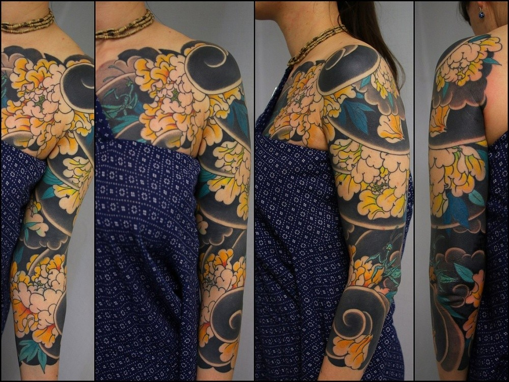 Тату рукав Japanese tattoo