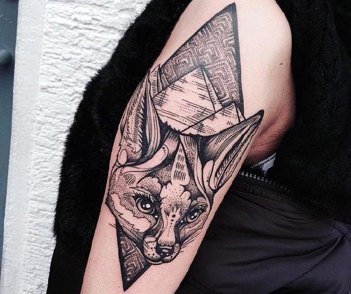 Тату графика – татуировки в стиле графика