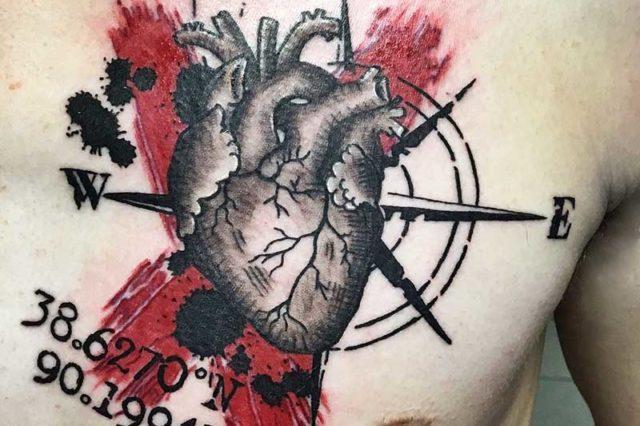Татуировки в стиле Реалистик треш полька. Realistic Trash Polka Tattoos