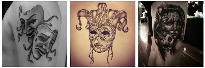 Татуировка-маска