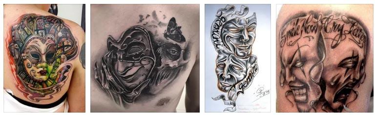 Татуировка-маски