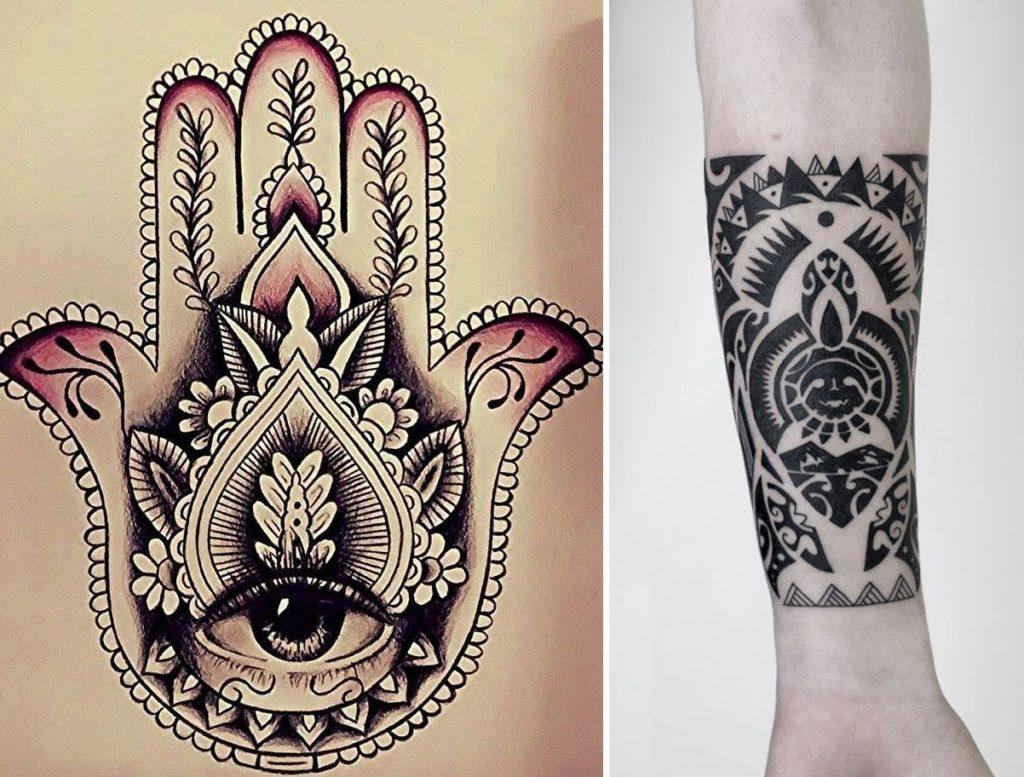 Символы здоровья и долголетия в тату