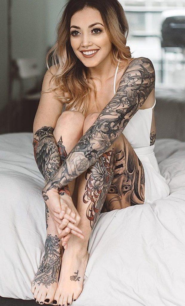 Татуировки для красивых девушек.